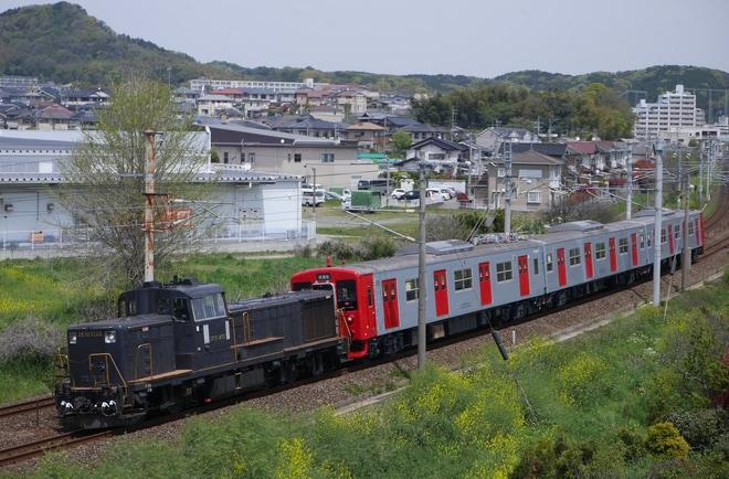 【JR九】103系E14編成出場配給