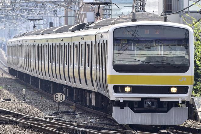 【JR東】209系500番台中央総武緩行線から撤退