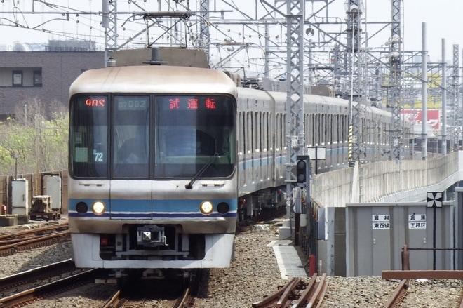 【メトロ】07系07-102F試運転