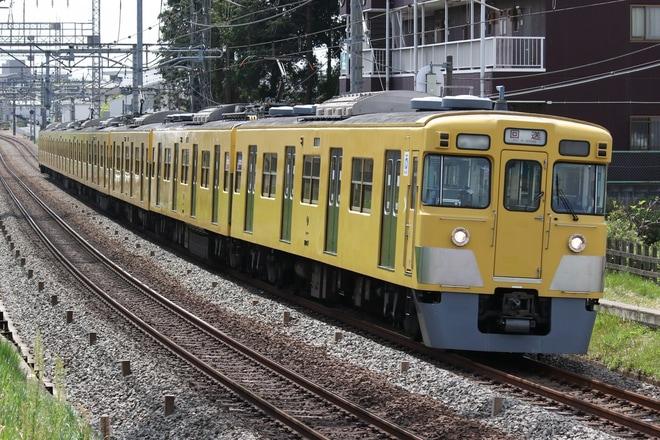 【西武】2000系2007F 武蔵丘車両工場入場