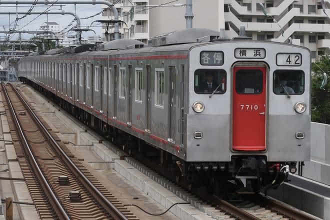 【相鉄】7000系7710Fが10両編成で運転