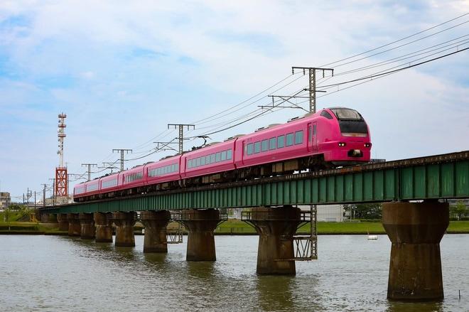 【JR東】E653系が越後線へ入線