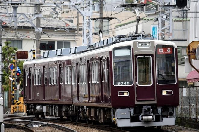 【阪急】8000系8042F正雀工場入場