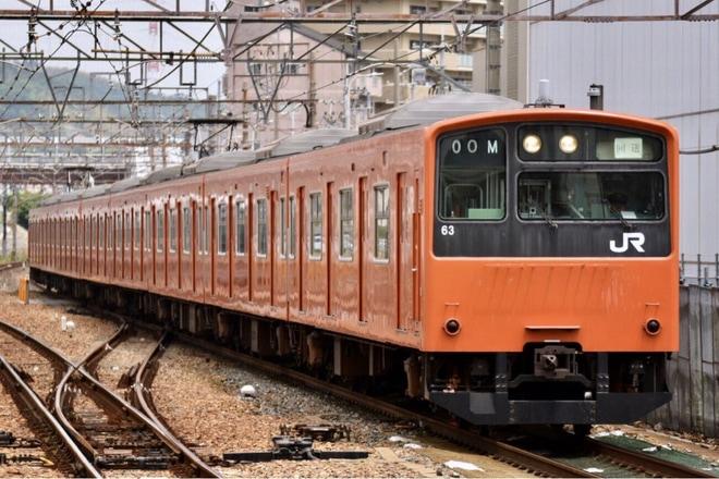 【JR西】201系LB3編成廃車回送