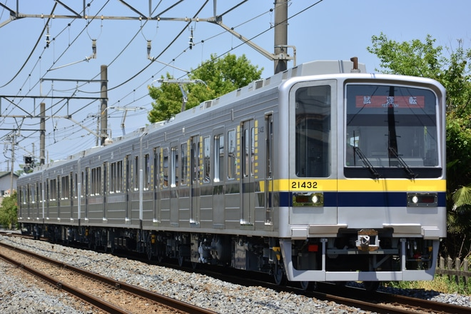 【東武】20000系20400形21432Fが出場