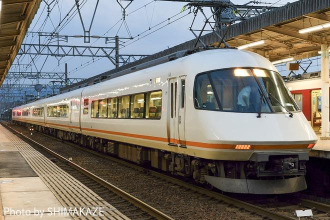 【近鉄】21000系 UL10(方反)による代走