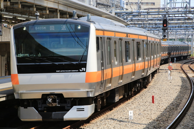 【JR東】E233系T37編成 東京総合車両センター出場