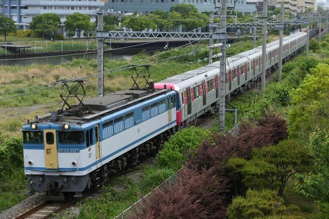 【都営】12-600形12-721F 甲種輸送