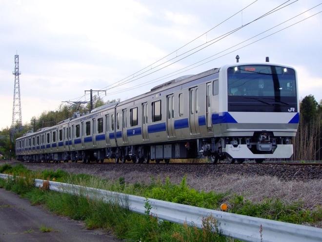 【JR東】E531系カツK455編成 郡山総合車両センター出場