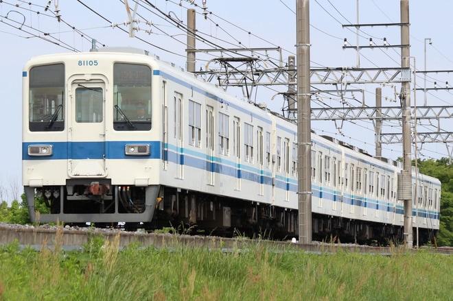 【東武】8000系81105F南栗橋へ