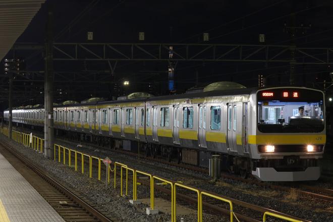 【JR東】E231系ミツB27編成 所属区へ回送