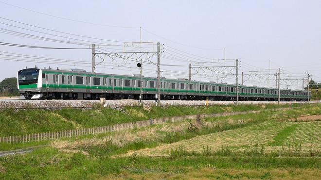 【JR東】E233系ハエ135編成高崎へ疎開