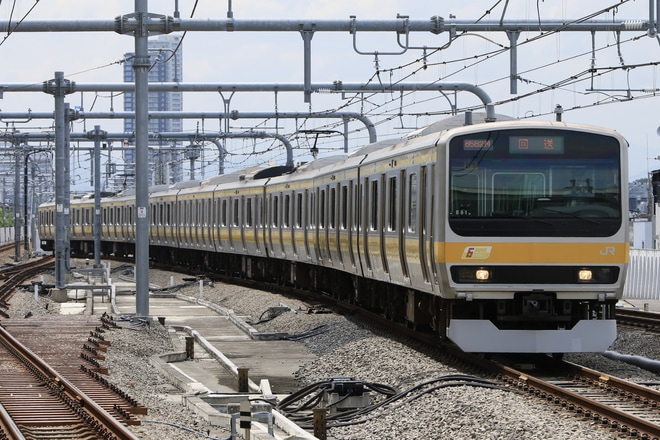 【JR東】E231系ミツB81編成返却回送