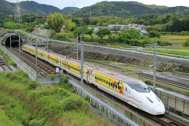 【JR九】Waku Waku Trip 新幹線(ミッキー新幹線)運行開始