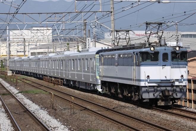【メトロ】13000系13133F7両 甲種輸送