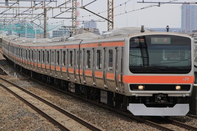 44位【JR東】E231系元B29編成大宮総合車両センター出場(アクセス数:4815)