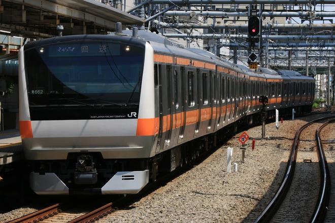 【JR東】E233系トタ青662編成 東京総合車両センター出場