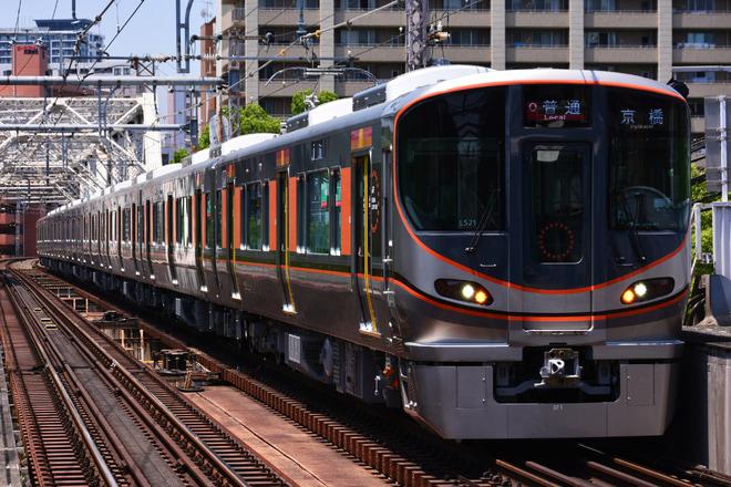 【JR西】323系LS21編成が営業運転を実施