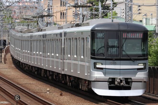 【メトロ】13000系13115F入場回送