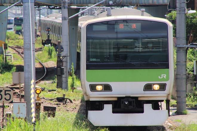 【JR東】E231系トウ546編成 東京総合車両センター入場