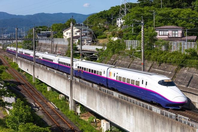 【JR東】E2系J61編成出場試運転