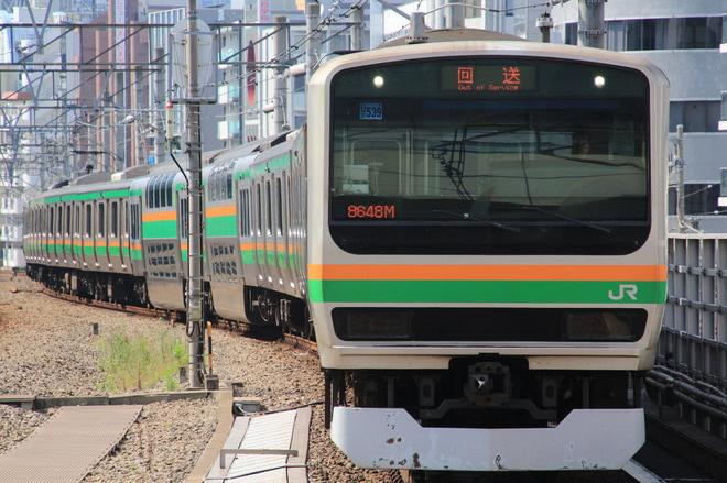 【JR東】E231系U539編成 東京総合車両センター入場