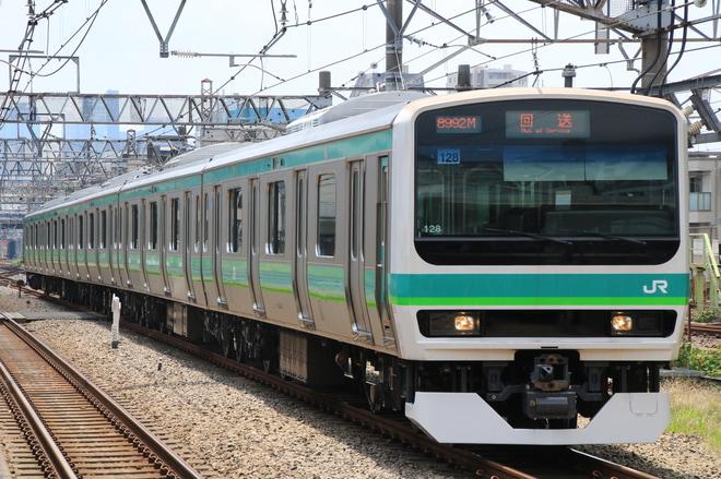 【JR東】E231系マト128編成 東京総合車両センター出場