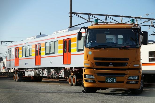【山陽】山陽6000系6010F(6010と6310)が搬入