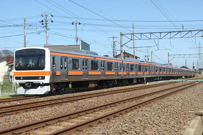 【JR東】209系元三鷹車両センター所属C511編成構内試運転