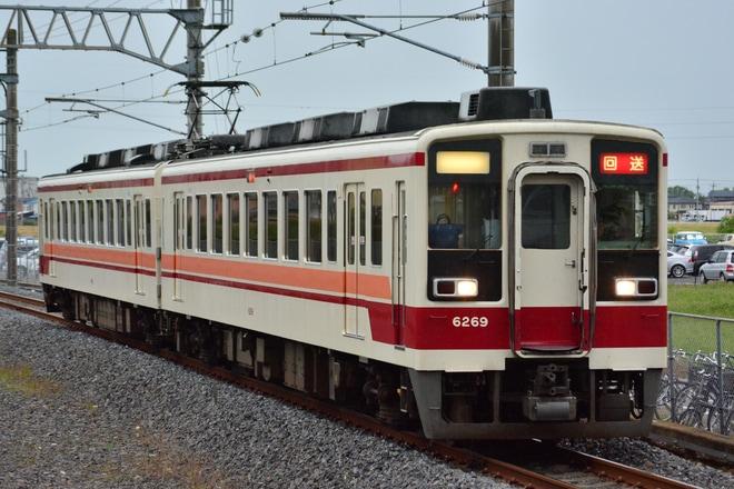 【東武】6050系6169F 南栗橋車輪転削返却回送