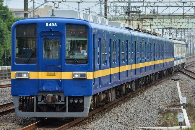【東武】8000系8198F南栗橋工場入場回送