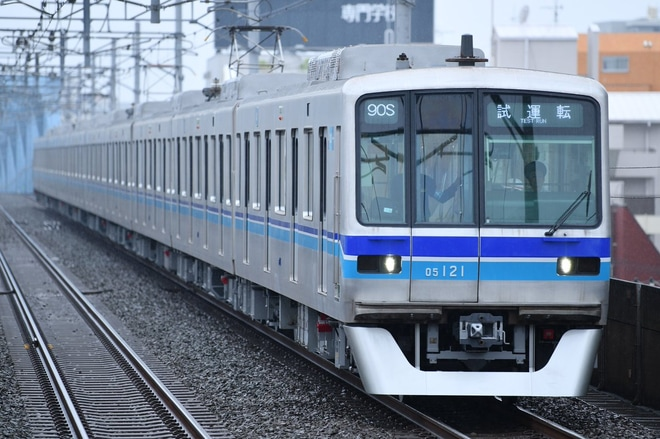 【メトロ】05系05-121F B修出場試運転
