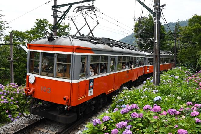 【箱根】モハ1形(103-107編成)引退記念ツアー 貸切列車運転