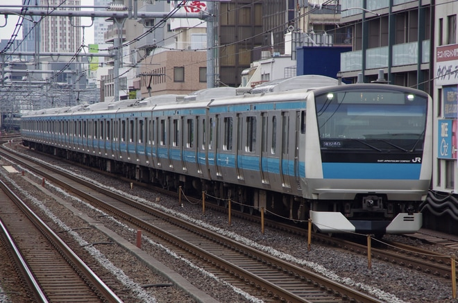 【JR東】E233系サイ154編成 東京総合車両センター出場