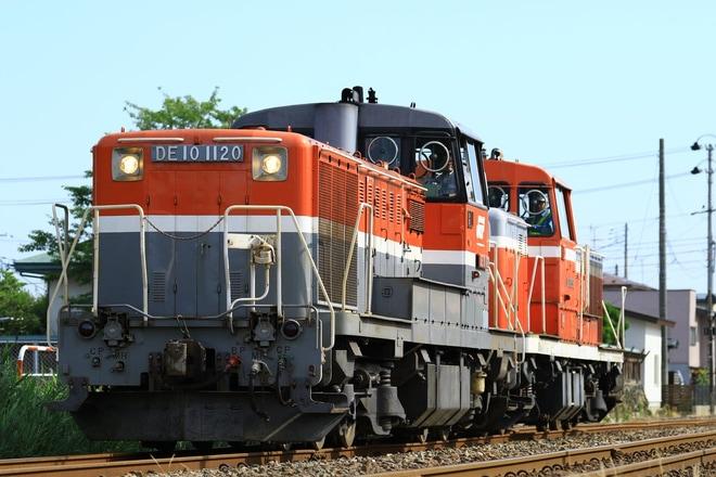 【JR貨】DE10-1536が秋田港へ甲種輸送