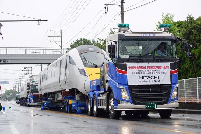 【日製】道路を走る高速鉄道車両(Class800)見学プロジェクト