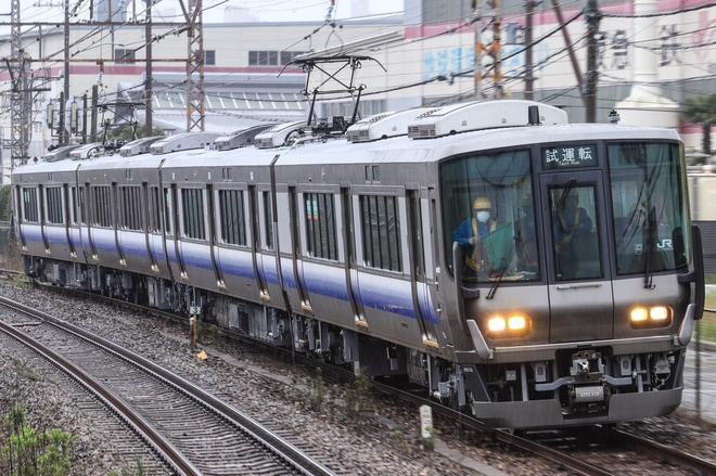 【JR西】223系ヒネHE429編成 種別行先フルカラー化して吹田出場