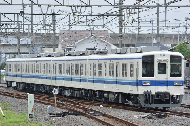 【東武】8000系8198Fが出場