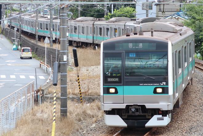 【JR東】E233系マト10編成 東京総合車両センター入場(2019)