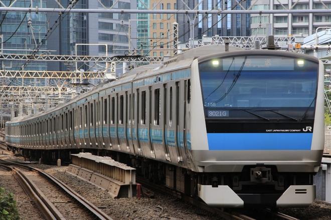 【JR東】E233系サイ158編成東京総合車両センター入場