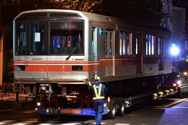 【メトロ】02系02-122F廃車陸送