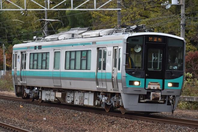 JR西】125系クモハ125-16が吹田総合車両所本所出場試運転 |2nd-train ...