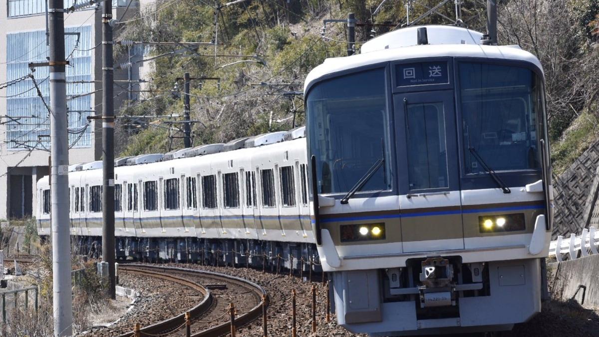 JR西】221系A3編成下関総合車両所出場回送 |2nd-train鉄道ニュース