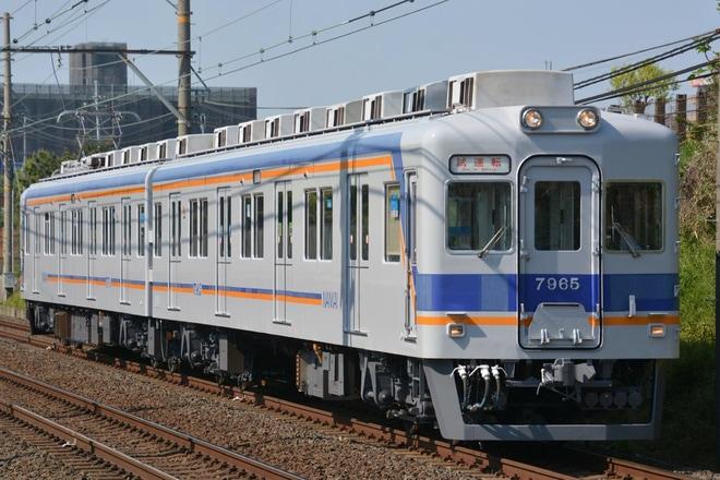 【南海】7100系7179F千代田工場出場試運転