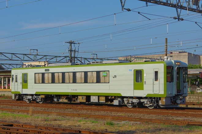 【JR東】キハ110-214が郡山総合車両センター出場(只見線転用)